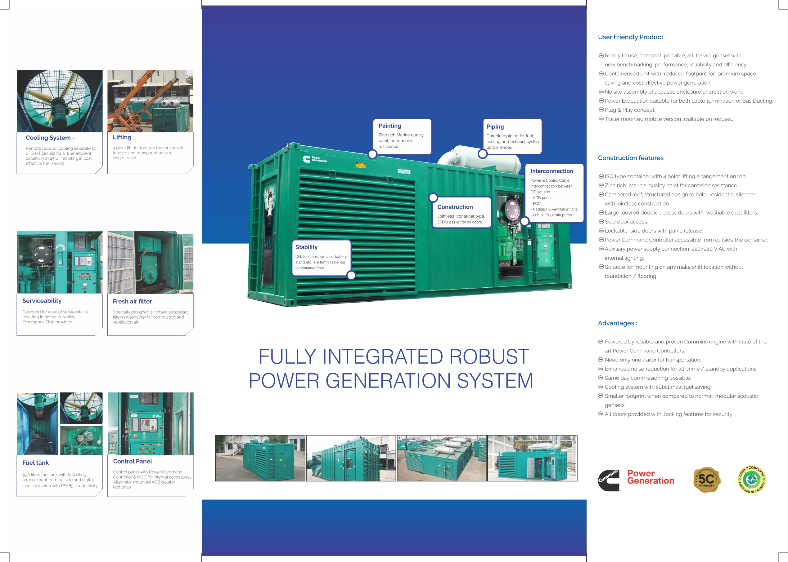 Containerized Generator Sets | Product Range | Diesel Generating ...